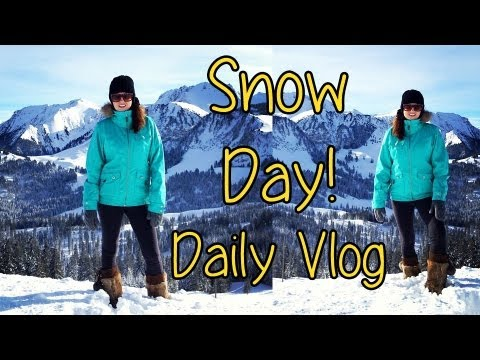 Snow Day! ♡ Jan 12 2013 Vlog