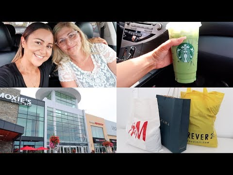 VLOG - Car Vlogging & Shopping Day With Mom!