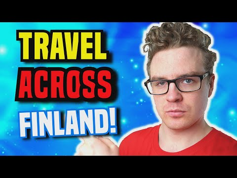 How to Travel in Finland Using Long-Distance Buses & Trains!