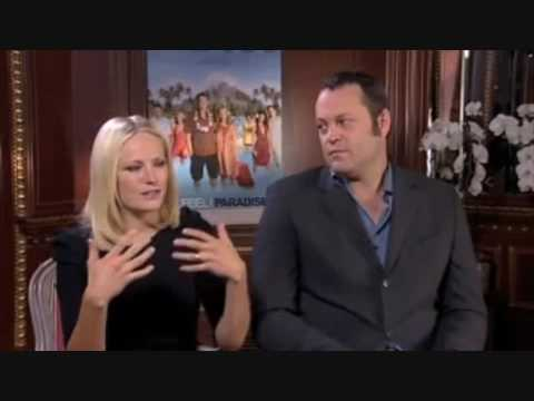 Malin Akerman - 2009 ( Couples Retreat interview ) Stockholm
