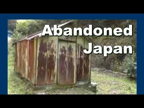 Old Japanese Farm Shed - Abandoned Japan