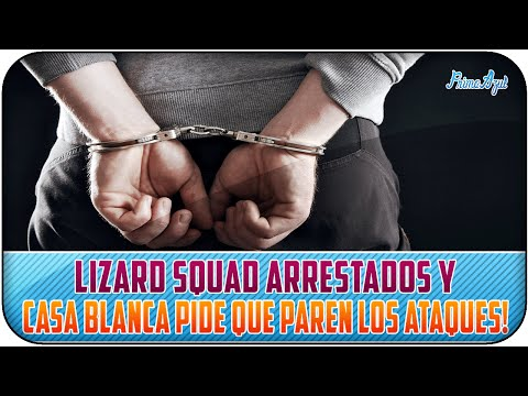 LIZARD SQUAD ARRESTADOS Y CASA BLANCA PIDE QUE PAREN LOS ATAQUES!