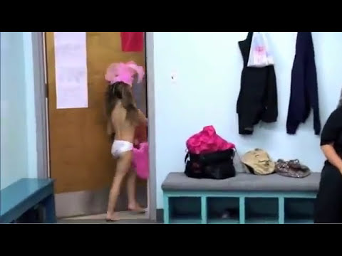 Sexualizing children: Little girls Burlesque in Nude Suits