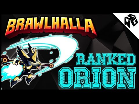 Road to Diamond Ranked Orion 1v1's - Brawlhalla Gameplay :: Playing With Headache is Hard1