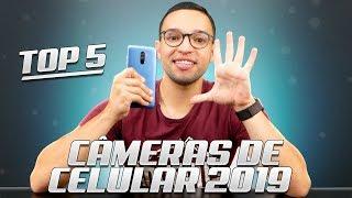 TOP 5 CÂMERAS de SMARTPHONES em 2019!