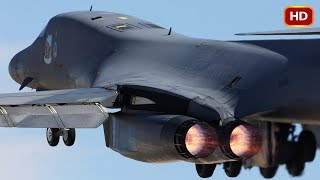 The Most Powerful US B-1 Lancer Shows Its Crazy Ability