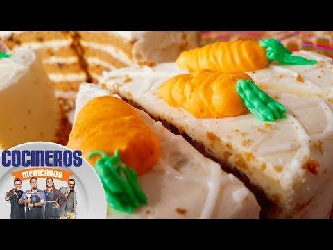 Receta: Pastel de zanahoria | Cocineros Mexicanos
