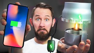 FIRE-Powered Phone! | 10 Ridiculous Tech Gadgets