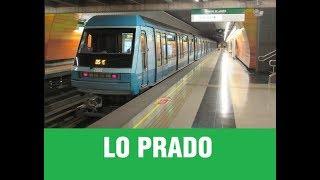 Metro De Santiago   Trenes Alstom x Lo Prado