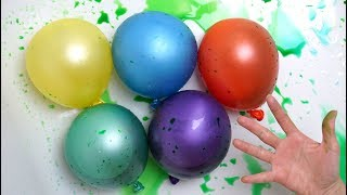 Colors Balloons for Babies Kids - Water Colour Learning - Aprender colores