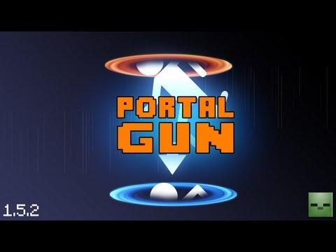 Minecraft Mods: Portal Gun [Forge][1.6.4](Act.)