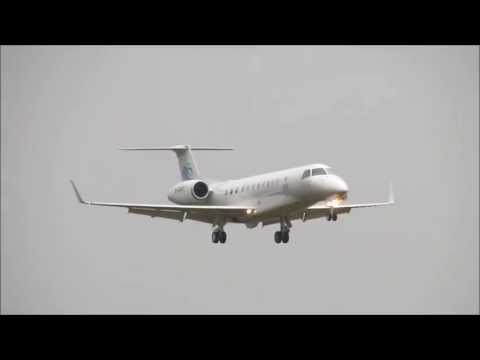 China Eastern Airlines Executive Embraer EMB135BJ Legacy 650 at Edinburgh 27 July 2013