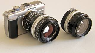 Using Nikon Lenses On Olympus Micro 4/3 Cameras To Make Movies