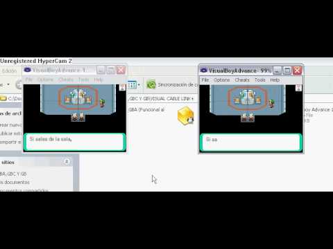 emulador gba con cable link