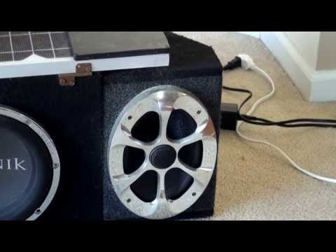Lepai LP2020A+ On 6x9 Car Speakers