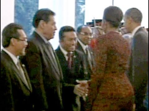 Outrage Over Michelle Obama Handshake (?)