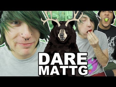 Dare MattG - 51 ( Salt and Ice Challenge, Christmas Cookies FROM HECK, Chubby Bunny W/ Peppers)