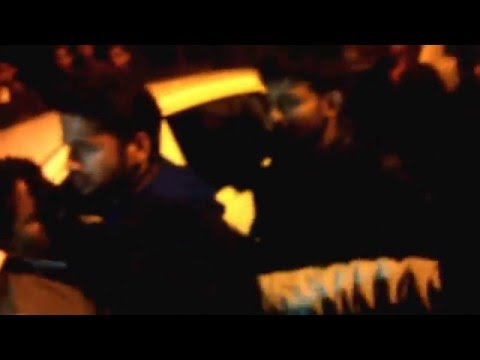 Anand Sharma attacked in JNU by ABVP