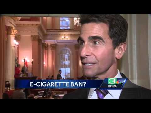 California bill to ban e-cigarettes sparks fight