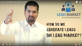 How Lead Market generates Leads  IndianMoneycom