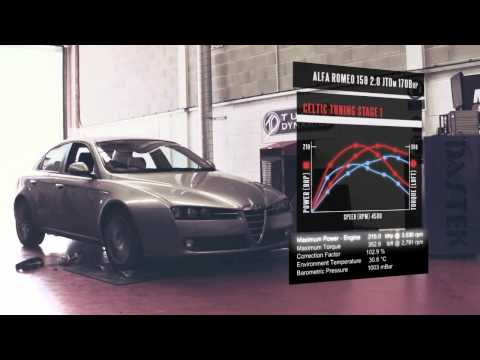 Alfa Romeo ECU Remap - 159 2.0 JTDm 170bhp ECU Remap Tuning