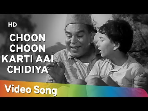 Choon Choon Karti Aai Chidiya - Ab Dilli Door Nahin - Bollywood Kids Songs - Nursery Rhymes video