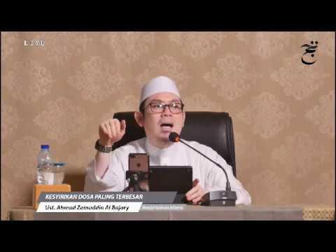 [LIVE] Kesyirikan Dosa Paling Terbesar - Ust. Ahmad Zainuddin Al Banjary