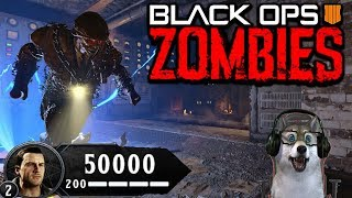'BLOOD OF THE DEAD' MAIN EASTER EGG HUNT (BLACK OPS 4 ZOMBIES GAMEPLAY)