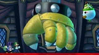 New Super Luigi U - 100% Co-Op Walkthrough - World 5: Soda Jungle (2 Player)