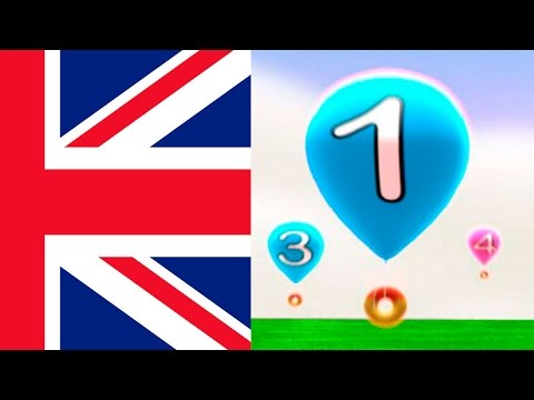 English numbers 1-20, learning numbers toddlers