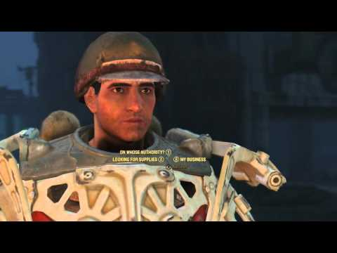Fallout 4 !  Complete guide to join Brother Hood of Steel - 1080p Full HD