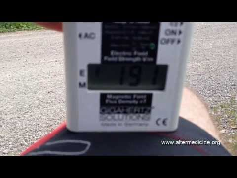 Powerline measurment - very high electromagnetic emissions