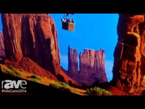 InfoComm 2016: Stewart FilmScreen Fideledy Vision 40