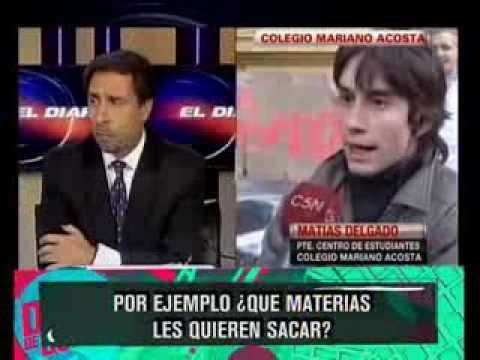 VOLVIO EL CLASICO: EDU FEINMANN VS TOMADORES DE COLEGIOS - 18-09-13