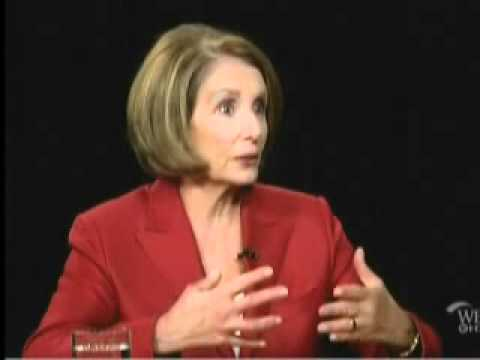 Nancy Pelosi Makes a Fool of Herself on Charlie Rose's Show