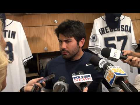 Padres OF Carlos Quentin on his altercation with Matt Kemp, what Zack Greinke said to him, why the fracas is on him & if the media did their research on the ...