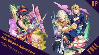 "「English Cover」Jojo's Bizarre Adventure Part 5 OP ""Fighting Gold"" FULL VER.【Sam Luff】- Studio Yuraki"
