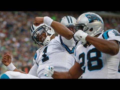 """Cam Newton Starts """"Dabbin"""" After Touchdown"""