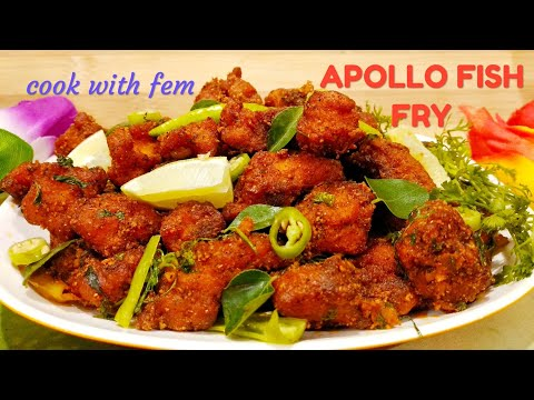 Apollo Fish Fry | Hyderabadi Restaurant Style Apollo Fish Fry Recipe | With English Subtitles