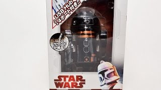 STAR WARS R2-Q5 USB hub From Japan  58956