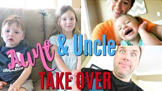 AUNT & UNCLE TAKE OVER THE VLOG | PART 1 (6.4.18)