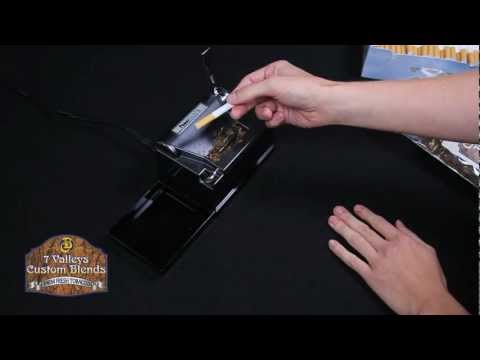 Powermatic II Electric Cigarette Injector Machine Demonstration