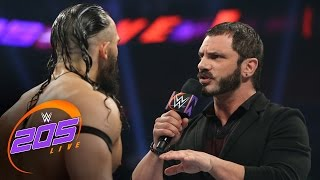 """Austin Aries delivers a """"WrestleMania message"""" to Neville: WWE 205 Live, March 21, 2017"""