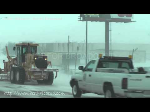 February 1, 2011 Oklahoma City Winter Blizzard/Snow Storm