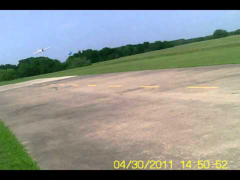 greatplanes giant supersporter flying in seagoville tx by Gary