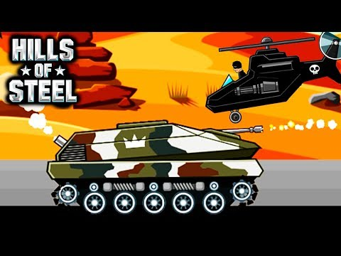 ФЕНИКС ОГНЕМЕТ HILLS of STEEL #4 Сумасшедшие танки мульт ИГРА для детей tanks BATTLE video GAME kids