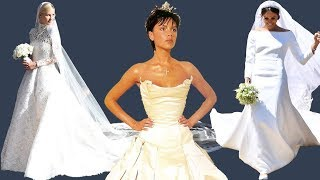 15 Most expensive wedding dresses of all time
