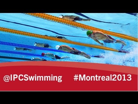 2013 IPC Swimming World Championships Montreal, Thursday 15 August, evening session