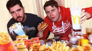 WE SPENT TOO MUCH MONEY ON THIS MCDONALDS MUKBANG!