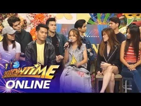 It's Showtime Online: TNT2 Q4 Semifinalist Janine Berdin reacts on Hurado's standing ovation